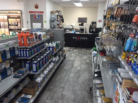 Store Interior in Clearwater, FL